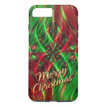 Fractal Art 39 Merry Christmas Options iPhone 7 Plus Case