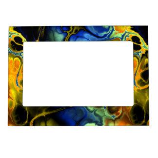 Fractal Art 3-3 Picture Frame Magnet