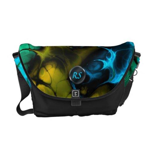 Fractal Art 3-5 Messenger Bag