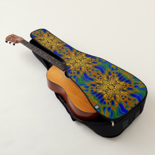 Fractal art 43 guitar case