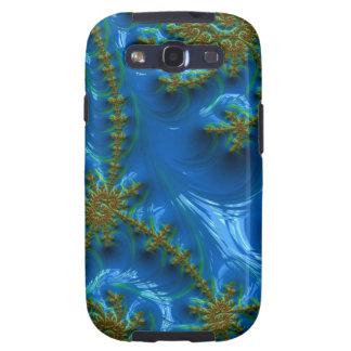fractal-art-441377 fractal art elegant vibrant blu samsung galaxy s3 cover