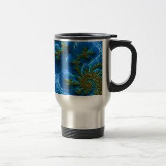 fractal-art-441377 fractal art elegant vibrant blu coffee mug