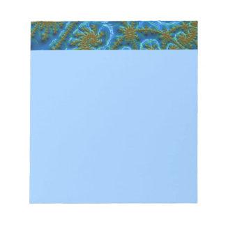 fractal-art-441377 fractal art elegant vibrant blu scratch pads