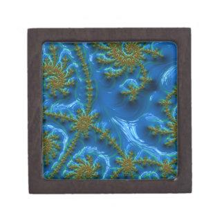 fractal-art-441377 fractal art elegant vibrant blu premium keepsake box