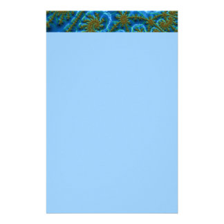 fractal-art-441377 fractal art elegant vibrant blu stationery design