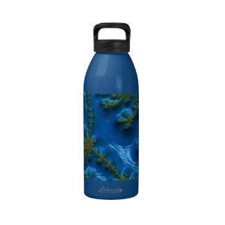fractal-art-441377 fractal art elegant vibrant blu drinking bottles