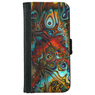 Fractal Art 71 Wallet Phone Case For iPhone 6/6s