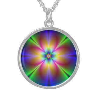 Fractal Art 8 Necklace