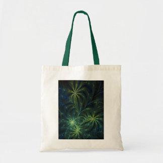 Fractal Art Bag: Weed Tote Bag