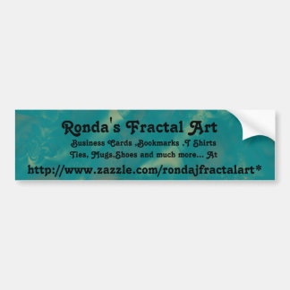 Fractal art Bumper Sticker