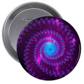 Fractal Art Pins