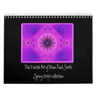 Fractal Art Calender by Brian Paul Smith Calendar