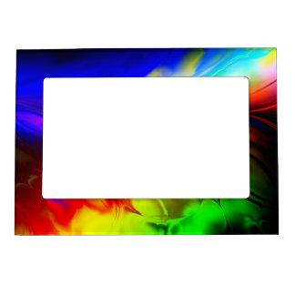 Fractal Art D Picture Frame Magnet