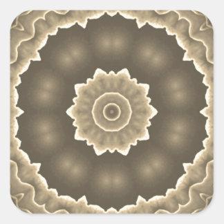 Fractal Art Design Square Sticker