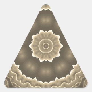 Fractal Art Design Triangle Sticker