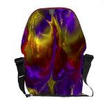 Fractal Art E Messenger Bag