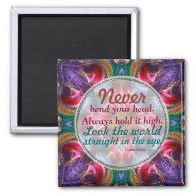 Fractal Art Fantasy Motivational Quote Magnet magnet