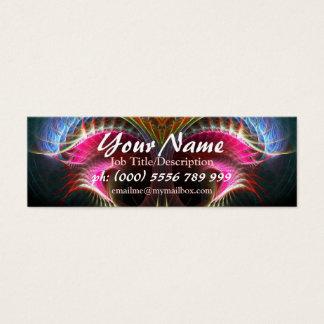 Fractal Art Fantasy Series Mini Business Card