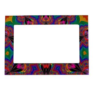 fractal art fridge magnet frame magnetic frames