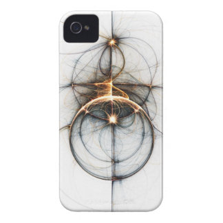 Fractal Art iPhone Case: Shooting Star iPhone 4 Cover