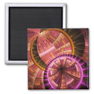Fractal Art Magnet: Industrial II Magnet