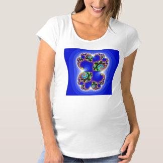 fractal art maternity T-Shirt