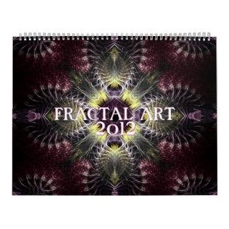 Fractal ART Mix 2012 Calendar
