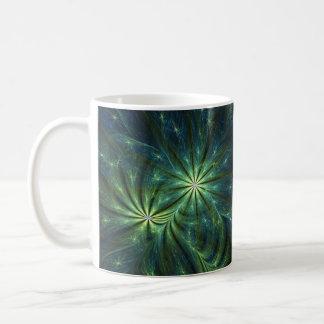Fractal Art Mug: Weed Coffee Mug