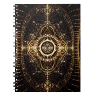Fractal Art Notebook: All Seeing Eye