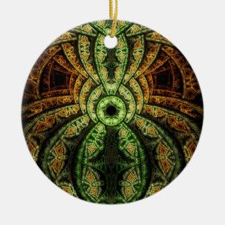 Fractal Art Ornament: Jungle
