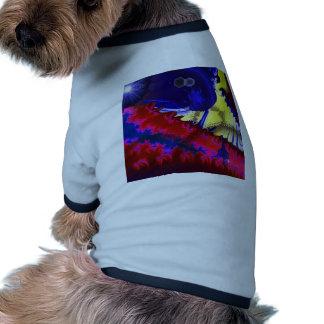 Fractal art pet clothes