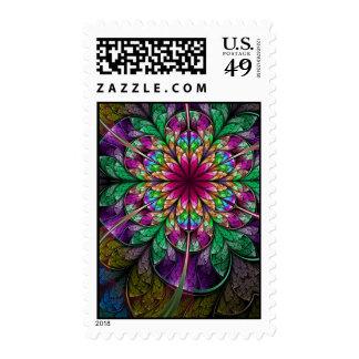 Fractal Art Postage: Flavours Stamps