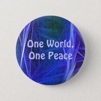 FRACTAL ART World Peace Button