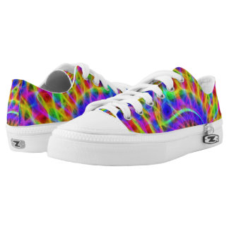 Fractal Art Zipz Low Top , US Men 9 / US Women 11
