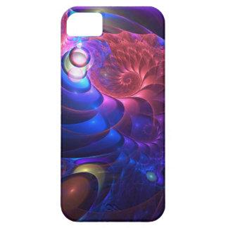 Fractal artístico mágico iPhone 5 carcasas