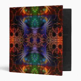 Fractal Artistry Totem Feathers Album Binder
