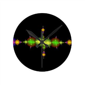 fractal arts round clock