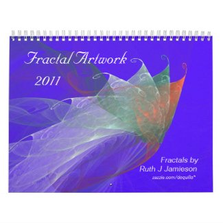 FRACTAL ARTWORK 2011 CALENDAR calendar