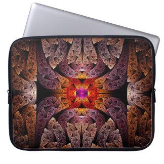 Fractal - Aztec - The Aztecs Laptop Computer Sleeve
