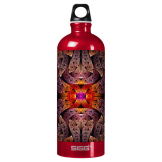 Fractal - Aztec - The Aztecs Water Bottle