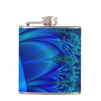 Fractal azul del rastro
