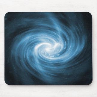 Fractal azul Mousepad