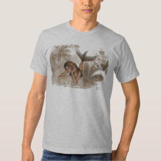Fractal Background 3D Mermaid T Shirt