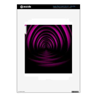 fractal background iPad 3 skins