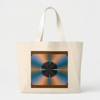 Fractal Bag With Old Style 78 Style Record