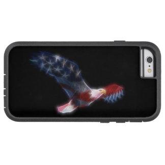 Fractal Bald Eagle Flag Patriotic Tough Xtreme iPhone 6 Case