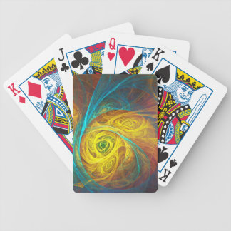 Fractal Baritone Horn Poker Deck