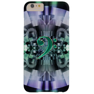 Fractal Bass Clef Music iPhone 6 Plus Case
