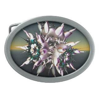 fractal belt buckle