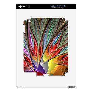 Fractal Bird of Paradise Skin For iPad 2